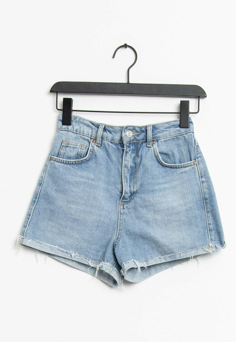 Topshop - Short en jean - blue