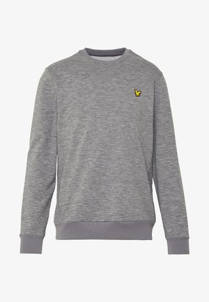 SUPERWICK CREW NECK MIDLAYER - Sweatshirt - mid grey marl