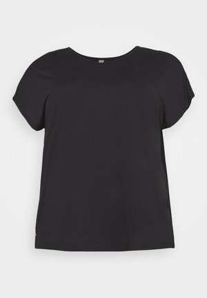 ONPADREY LOOSE TRAINING TEE - Jednoduché triko - black/white
