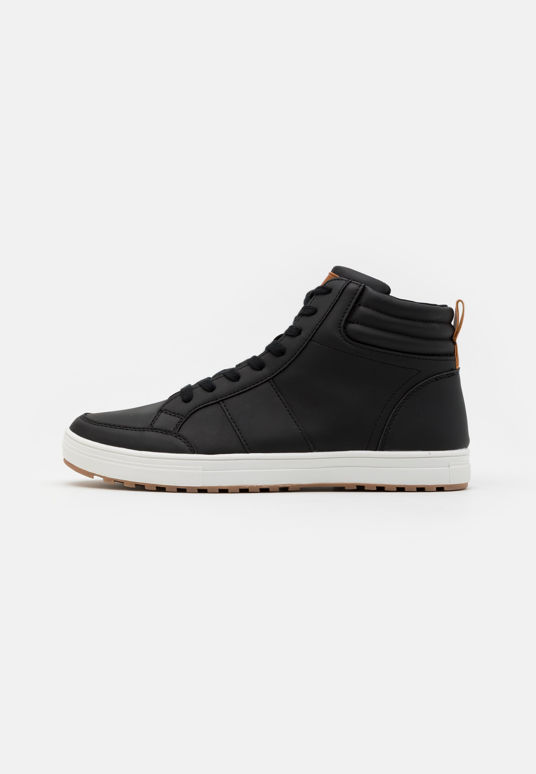 Men High-top trainers - black/white