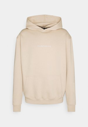 CLUB REGULAR HOODIE UNISEX - Sweatshirt - beige