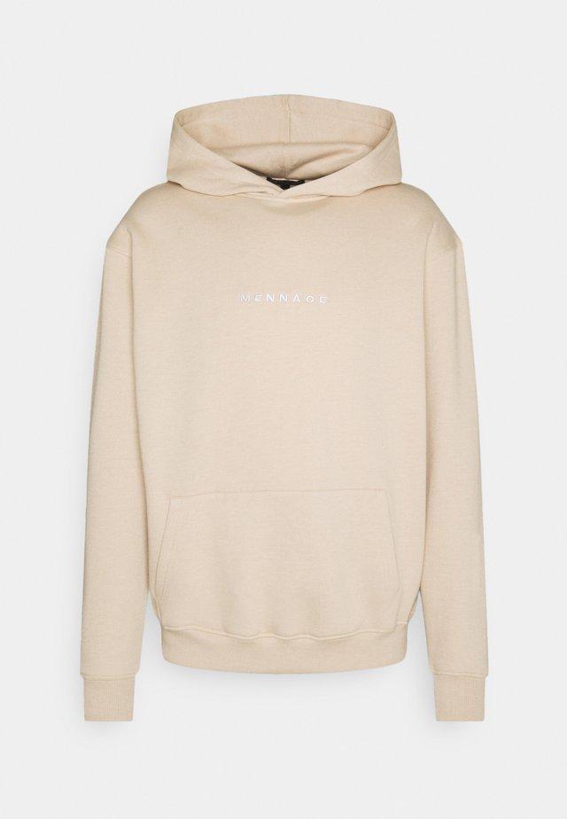 CLUB REGULAR HOODIE UNISEX - Sweatshirt - beige