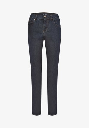 CICI' MIT DEZENTER WASCHUNG - Straight leg jeans - dark-blue denim