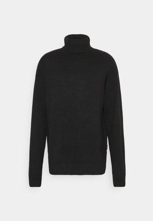 UNISEX  - Stickad tröja - black