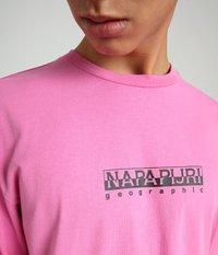 Napapijri - S-BOX LS - Long sleeved top - pink super - 4