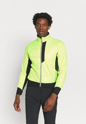 BIKE ISO JACKET HOTBOND - Outdoor jacket - neon yellow