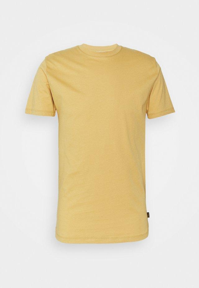 FLEEK - T-shirt basique - mustard