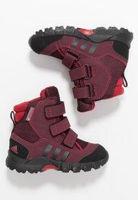 adidas Performance - CW HOLTANNA SNOW  - Zimní obuv - active maroon/core black/maroon - 0