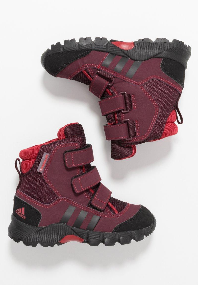 adidas Performance - CW HOLTANNA SNOW  - Zimní obuv - active maroon/core black/maroon