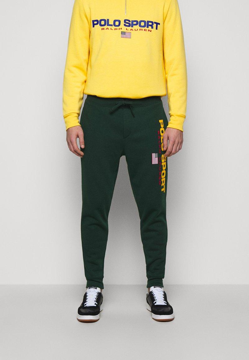 Polo Ralph Lauren - Pantalon de survêtement - college green
