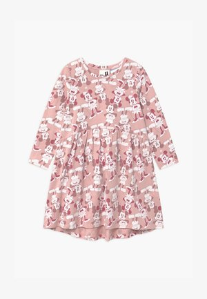 DISNEY MICKEY LICENSE FREYA LONG SLEEVE - Jersey dress - pink