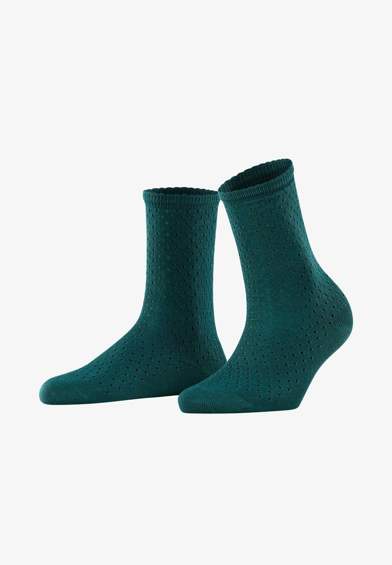 FALKE - POINTELLE - Socks - peacock
