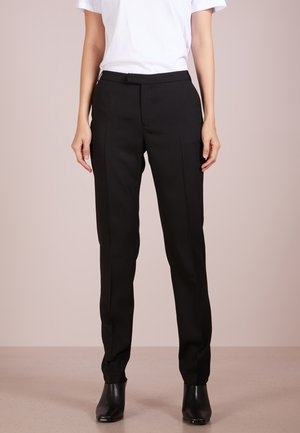 LOVANN - Pantalon classique - night black
