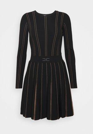 WOMAN'S DRESS - Day dress - black / pink