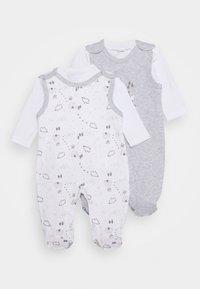 Jacky Baby - 2 PACK - Pyžamová sada - grey/white - 0