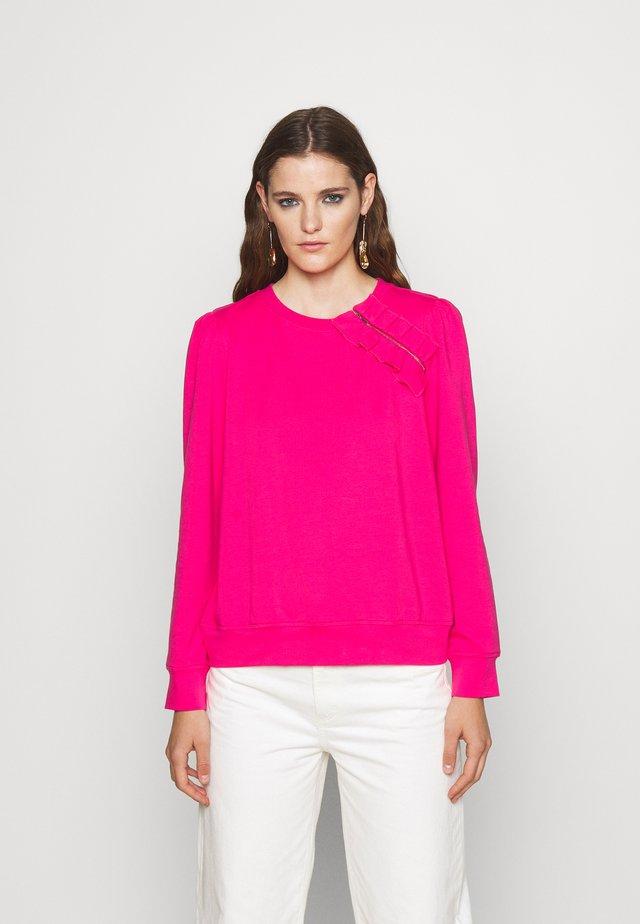 TERRY - Sweater - hibiscus