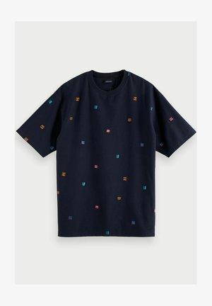 Print T-shirt - midnight