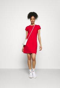 GAP - TEE DRESS - Trikoomekko - pure red - 1