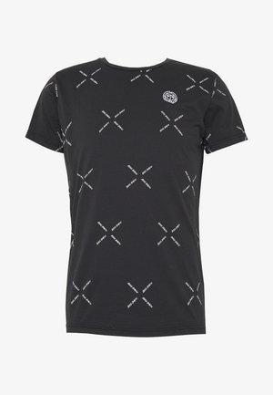 ALEKO LIFESTYLE TEE - Print T-shirt - black