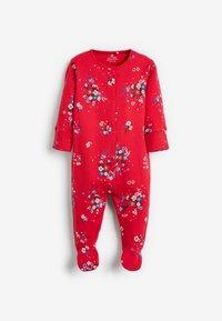 Next - 3 PACK FLORAL  - Sleep suit - red - 2