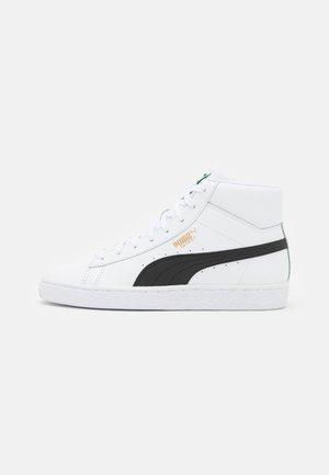 BASKET MID UNISEX - Sneakers hoog - white/black
