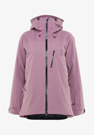 NIVA JACKET WOMEN - Snowboardová bunda - purple milk