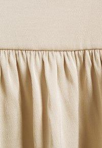 Samsøe Samsøe - JUDITH SHORT DRESS - Hverdagskjoler - brown rice - 2