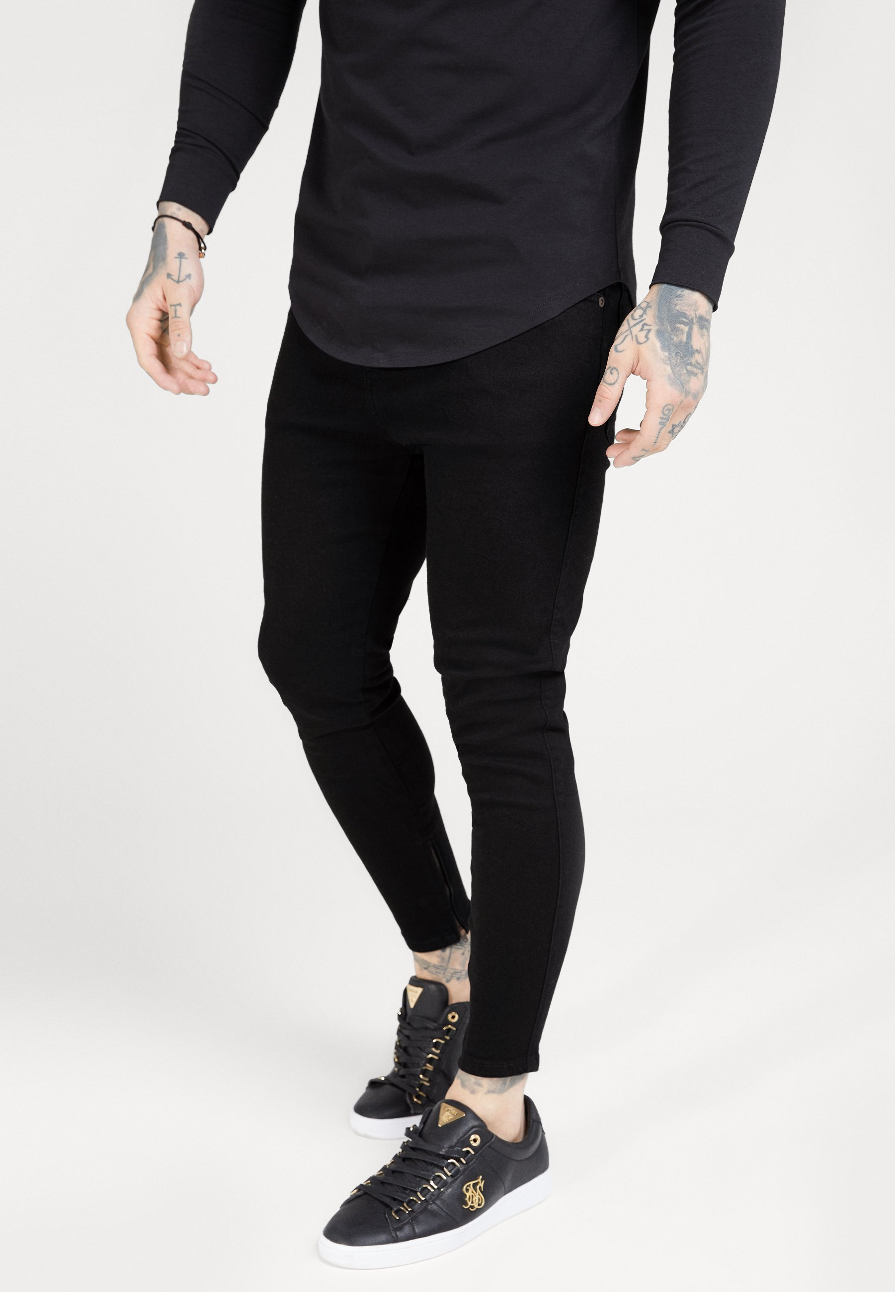 Herren SIKSILK DROP CROTCH  - Jeans Skinny Fit