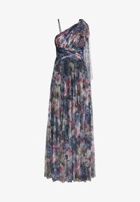 Adrianna Papell - SHIRRED PRINTED GOWN - Iltapuku - red/blue/multi - 4