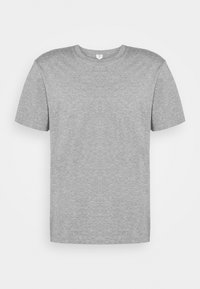Basic T-shirt - grey medium dusty