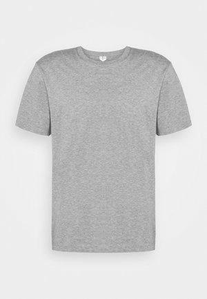 Basic T-shirt - grey medium dusty