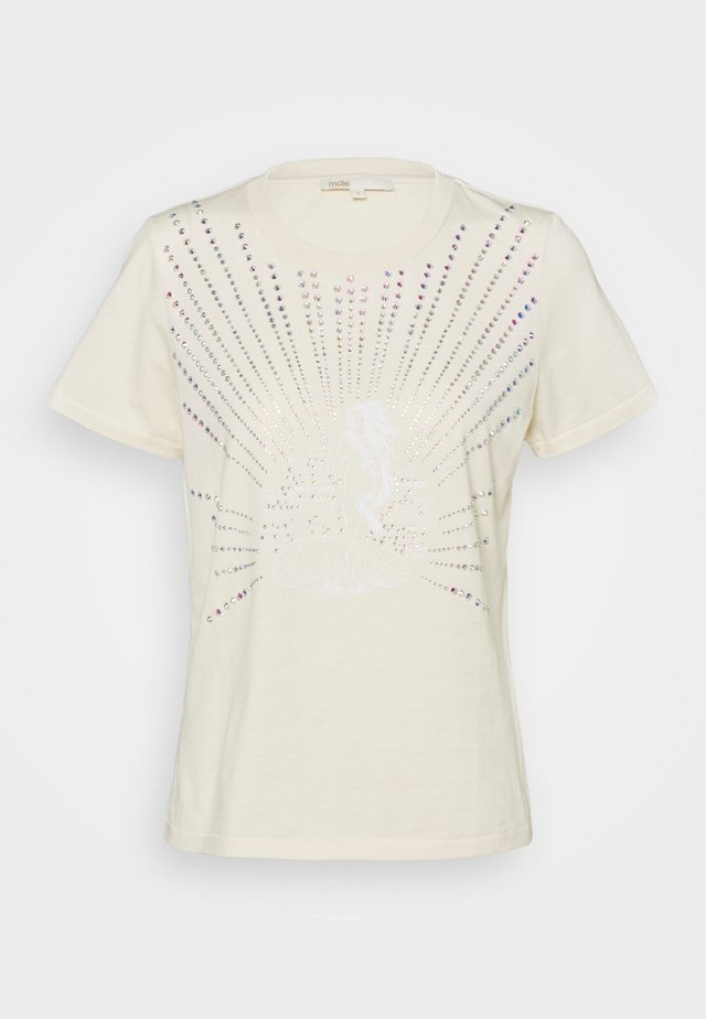 TELLY - T-shirt print - nude
