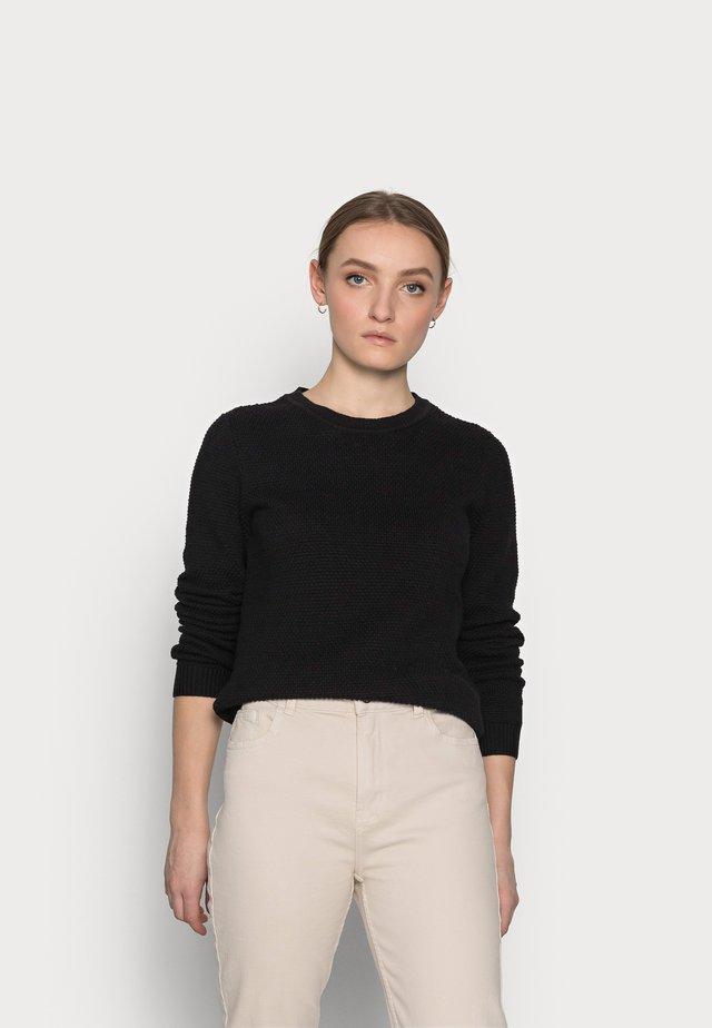 VICHASSA  - Pullover - black