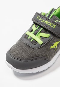 KangaROOS - CITYLITE - Sneakers - steel grey/lime - 2
