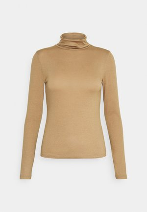 GIANNA POLO - Long sleeved top - tigers eye