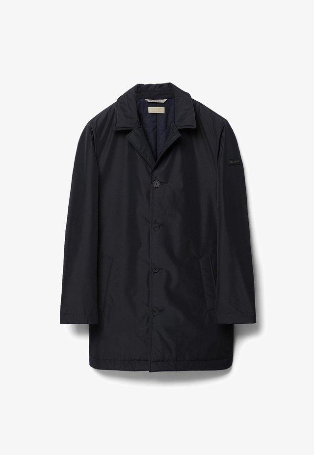 Classic coat - blu black