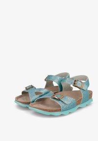 Genuins - KENIA GLITTER - Sandals - hellblau - 2