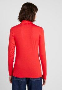 Soaked in Luxury - HANADI ROLLNECK  - Long sleeved top - red - 2