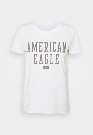 BRANDED CLASSIC TEES - Print T-shirt - natural white