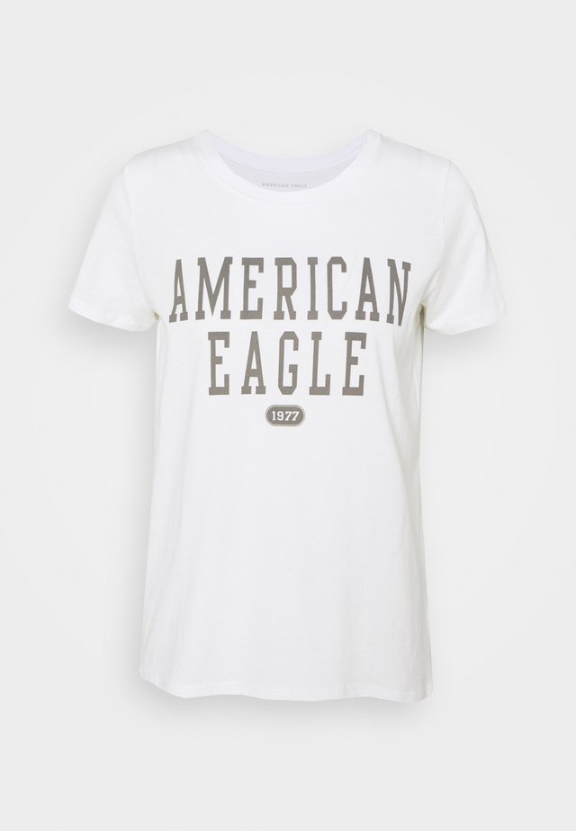 BRANDED CLASSIC TEES - T-shirt imprimé - natural white