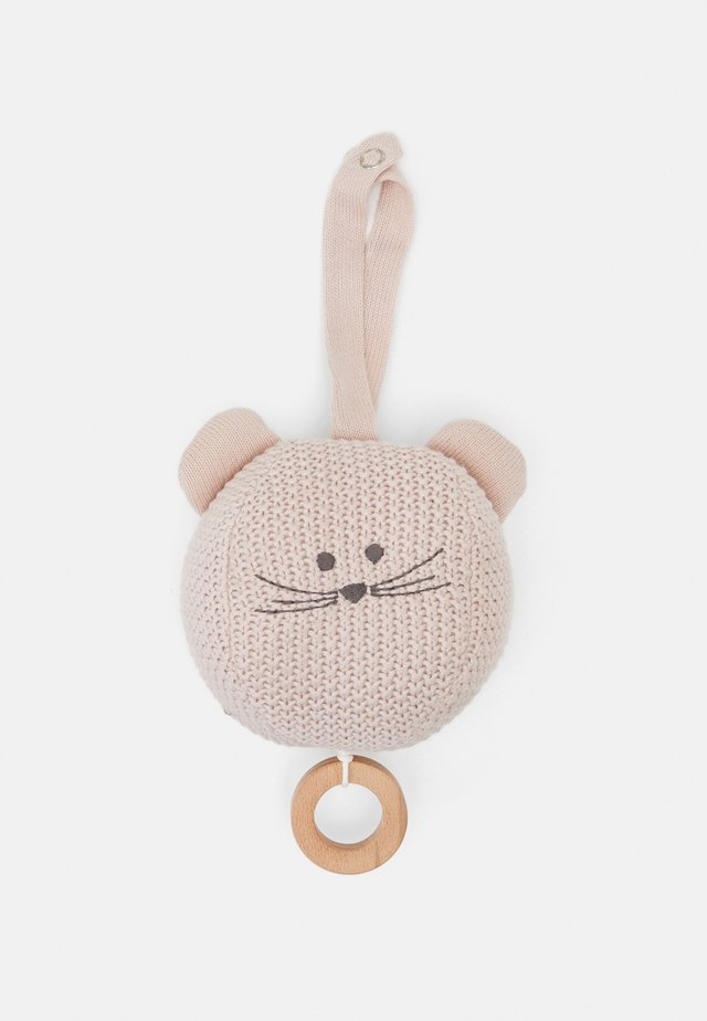 MUSICAL LITTLE CHUMS MOUSE UNISEX - Carillon - light pink