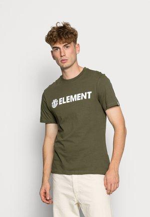 BLAZIN - Print T-shirt - army