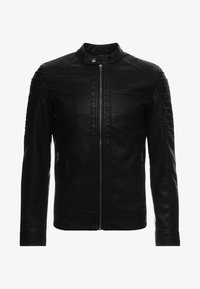 Only & Sons - ONSSACHO - Faux leather jacket - black - 4