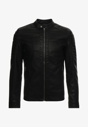 ONSSACHO - Faux leather jacket - black