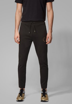 HALBOA CIRCLE - Tracksuit bottoms - anthracite