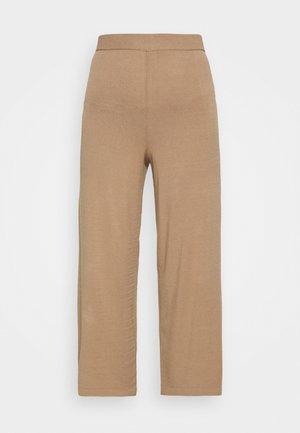 SOVRANA - Pantalon classique - camel