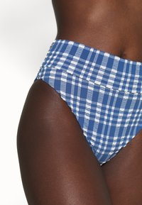 aerie - HI CUT CHEEKY PLAID - Bikini bottoms - jeweled blue - 4