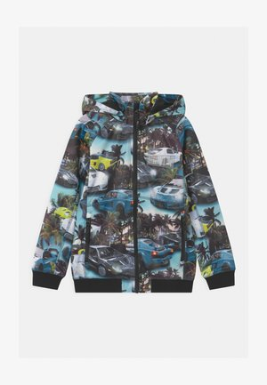 CLOUDY - Waterproof jacket - blue