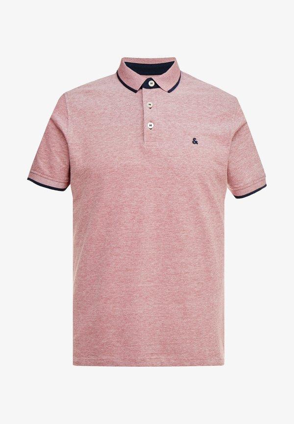 Jack & Jones Koszulka polo - brick red/czerwony Odzież Męska DFML