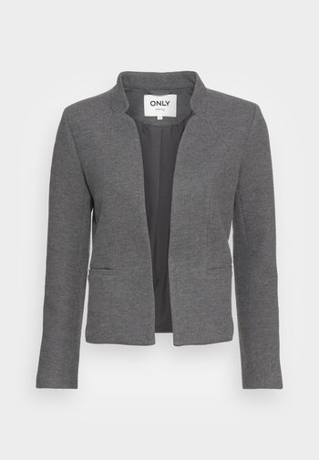 ONLADDY LINEA SHORT - Blazer - medium grey melange